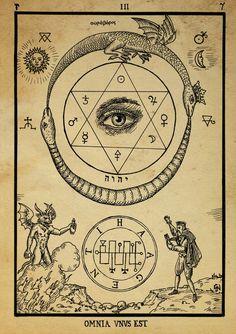 Alchemy woodcut