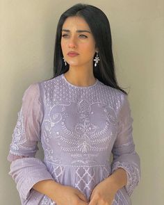 Dress Outfits, Girl Outfits, Cute Girl Face, Pakistani Actress, Winter Trends, Pakistani Outfits, Girl Crushes, Girl Photography, Elegant Dresses