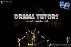 Are you a #Drama tutor? Register with us today for free.  #tutor #personaltutor #tutors #onlinetutoring www.selectmytutor.co.uk
