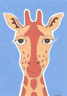 "Project Smile – World Smile Archive Exhibition ""Smiling Giraffe"""