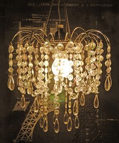 Loving this Iridescent Acrylic Chandelier on #zulily! #zulilyfinds59.99 also silver