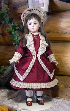 25 inch Jumeau Triste Doll
