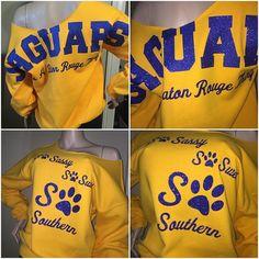 ad4dc08a6 Southern University Jaguars bling sweatshirt