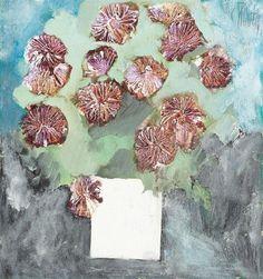 Chrysanthemums - Constantin Piliuta Famous Words, Post Impressionism, Art Database, Botany, Spring Time, White Flowers, Flower Art, Chrysanthemums, Create