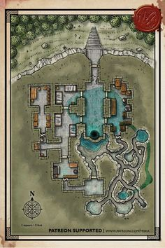 Fantasy Archives — Page 2 of 7 — Miska's Maps RPG Cartography Dungeons And Dragons Homebrew, D&d Dungeons And Dragons, Cthulhu, Underwater Lake, Pathfinder Maps, Fantasy World Map, Rpg Map, Map Icons, Dungeon Maps