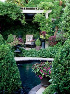 Un jardin aux multiples tons de vert | Décormag