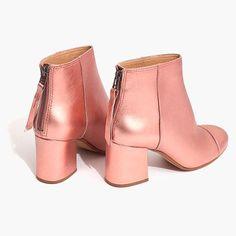 The Jillian Boot in Metallic