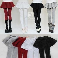 1/3 Legging Skirt for Girl - 4 colors