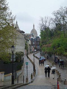 Montmatre, Paris by croylelond on Flickr.