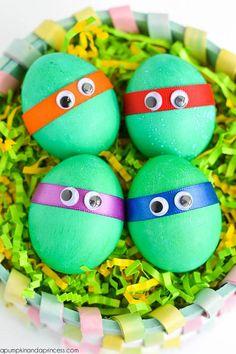 Dyed Cute Ninja Turtles