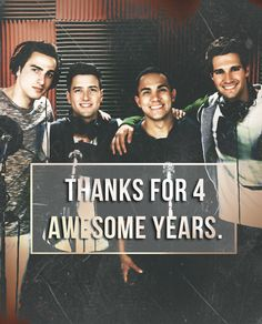 Love these boys so much. I know there will be big things in the future for them and their rushers =)