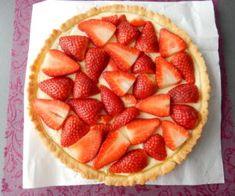 Jahodový koláč - bez želatiny Food And Drink, Cooking, Desserts, Kitchen, Tailgate Desserts, Deserts, Postres, Dessert, Brewing