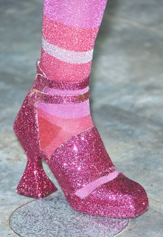 Detail at Meadham Kirchhoff, Fall 2012….I'd totally rock those for new years!! -Dana