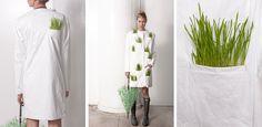 toildrops » tyvek & wheat grass fashion