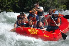 Deschutes river rafting with Sun Country Tours - Pitstops for Kids