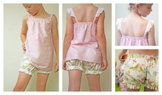Sweet Dreams Vintage Bloomers pattern by RabbitRabbitCreation