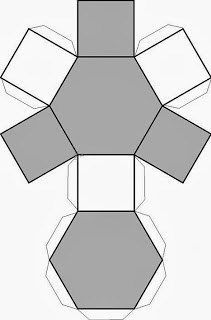 Hexagonal cutout drawing geometric figures - 卡纸手工 - Welcome Haar Design Cement Art, Concrete Crafts, Concrete Projects, New Crafts, Diy And Crafts, Paper Crafts, Concrete Design, Concrete Planters, Origami Geometric Shapes