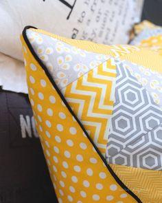 Selbernähen: DIY Patchwork Kissen | tutorial | Nähanleitung | crafts idea | sewing | decor | gift | was eigenes Blog