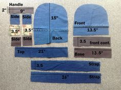 Salute to Cute: Backpack - Denim scraps Zip Pouch Tutorial, Backpack Tutorial, Denim Backpack, Denim Bag, Bag Patterns To Sew, Sewing Patterns, Mochila Jeans, Diy Crafts Love, Denim Scraps