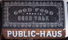 Artista: Tanamachi - Abi-Haus / Abilene, Texas / Las 40 mejores ideas y diseños sobre pizarra – Chalkboard design