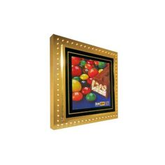 Bass Chaselite Concession Framed Vintage Advertisement Frame Color: Polished Gold, Image: 4, Matte Color: Black w/ Gold