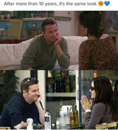 I want a spin off about the kids and have some more Mondler moments Serie Friends, Friends Cast, Friends Episodes, Friends Moments, Friends Tv Show, Friends Forever, Best Friends, Friends Tv Quotes, Joey Friends