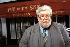"""""""Pie in the Sky"""" - DI Henry Crabbe portrayed by the late Richard Griffiths."""