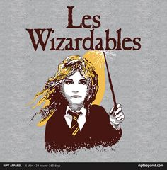 Movie Tee Shirt - Les Wizardables - RIPT Apparel