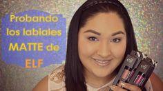 Nuevos labiales líquidos MATTE de ELF cosmetics | Swatches y Primeras Im...