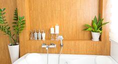 Moisissures, émanation de produits cosmétiques… découvrez les plantes qu'il vous faut pour assainir votre salle de bain.