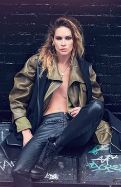 Erin Wasson by David Bellemere for Marie Claire Italia October 2014