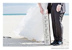 norwegian beach wedding photography : and they lived happily ever after