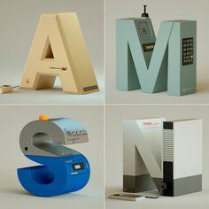 '36 days' de nostalgia tecnológica y tipográfica