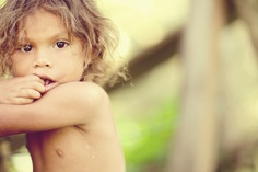 Little boy in Honduras - Brandon Kidd