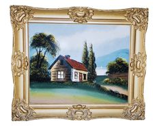 What are these antique pieces of artwork worth? Professional appraiser Helaine Fendelman identifies and evaluates your collectibles and antiques. Early American, American Art, Rococo Style, Art Techniques, Art Forms, Original Paintings, Antiques, Frame, Glass
