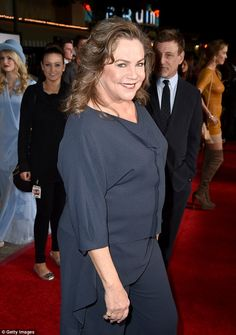 Kathleen Turner, who has rheumatoid arthritis, is recently at the premier of Dumb and Dumber To in California- 'I don't look like I did 30 years ago, get over it!' Kathleen Turner tells all about her desperate battle with the ravaging effects of arthritis, and why she's ready to fall in love. (she shares how much she hates prednisone and the effects it has on her mind/body)