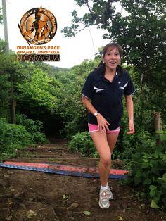 Primer ganadora, categoria mujeres. Conny Villalobos