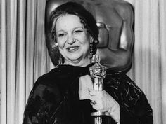 """Geraldine Page 1985 Best Actress Oscar winner for the film """"A Trip to Bountyful"""""""