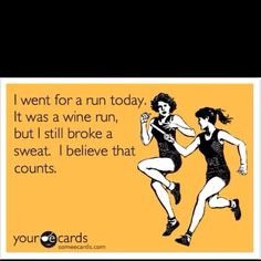 I have more than a few friends who would use this excuse! Lol ;)