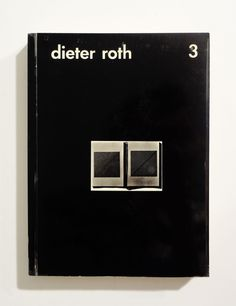 Dieter Roth - Bok 2a and Bok 2b Really interesting cover, feels like brutalist architecture. Dieter Roth made cool stuff like Lindt chocolate rabbits but out of rabbit shit.