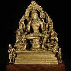 Kashmir – Page 2 – Himalayan Buddhist Art – Art Bouddhiste de l'Himalaya Bronze Sculpture, Sculpture Art, Tibetan Art, Divine Mother, Metal Tree Wall Art, Oriental, 11th Century, Buddhist Art, Deities