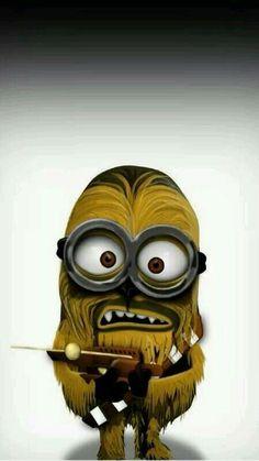 Chewbacca Minion Star wars despicable me