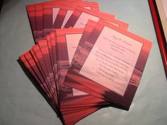 Wedding Reception Only Invitations, Destination, Beach