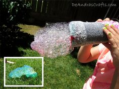 Rainbow Bubble Cloud Makers #kids #activity #summer #outdoors