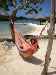 Hammock on the beach relaxing #EpicSummerRun