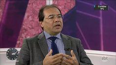 Candidato a procurador-geral Nicolao Dino é entrevistado pelo SBT Notícias