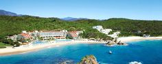 Book a vacation package at Dreams Huatulco Resort & Spa in Huatulco, Mexico Pacific. Book online with WestJet Vacations today. Mexico Resorts, Mexico Vacation, Vacation Deals, Dream Vacations, Vacation Spots, Mexico Travel, Apple Vacations, Travel Deals, All Inclusive Honeymoon
