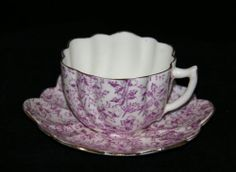 English CUP AND Saucer Dated 1891 Probably Wileman PRE Shelley Aesthetic Period | eBay