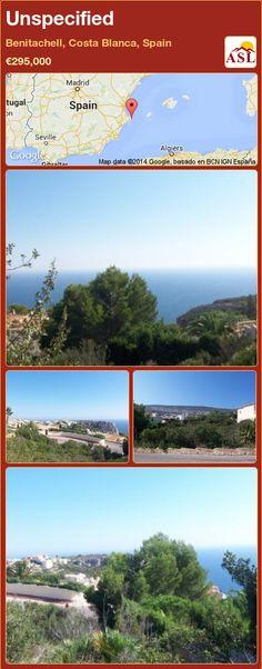 Unspecified in Benitachell, Costa Blanca, Spain ►€295,000 #PropertyForSaleInSpain