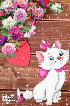 MeWe: The best chat & group app with privacy you trust. Image Mickey, Morning Cat, Marie Cat, Gata Marie, I Love You Pictures, Disney Cats, Gifs, Marie Aristocats, Funny Cute Cats